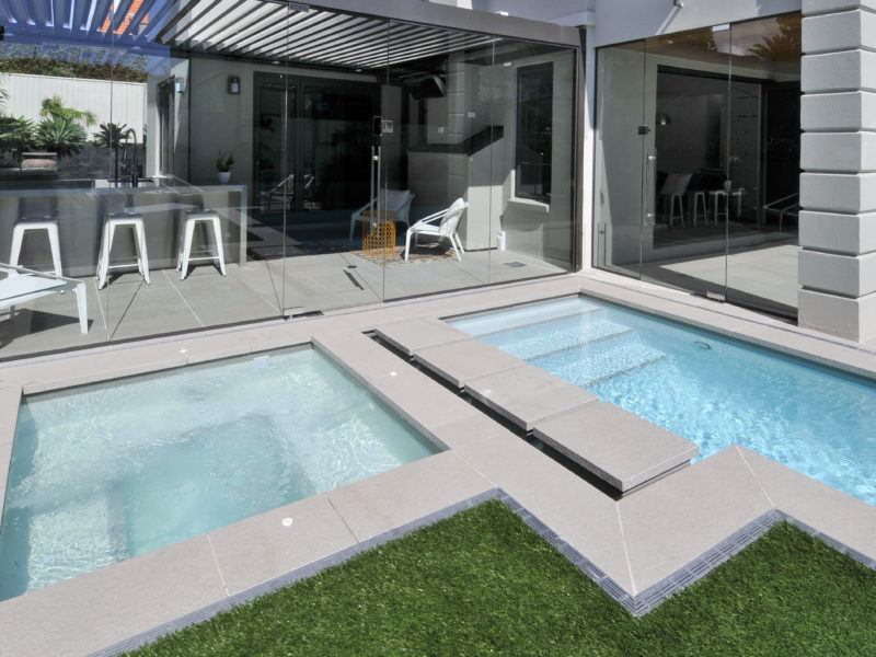 Beautiful Concrete Pools Pace Pools Auckland Nz